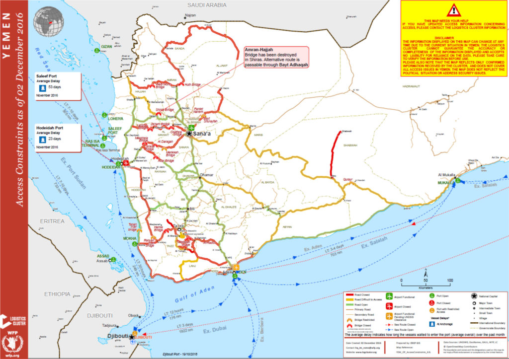 Maps the yemen safe passage group food security outcomes is feb 2016 to may 2017 gumiabroncs Gallery